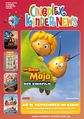 Die CINEPLEX-Kindernews
