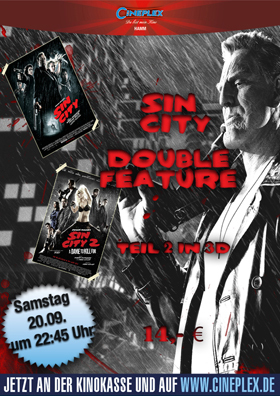 DOUBLE-FEATURE: Sin City 1+2