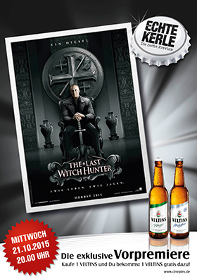 Echte Kerle Preview THE LAST WITCH HUNTER