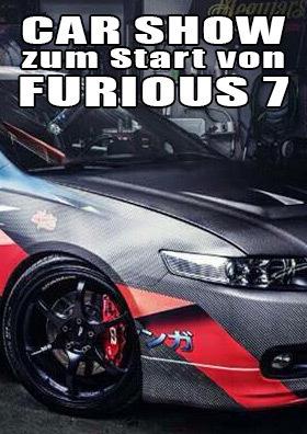 04.04. - Car Show zum Start von Furious 7