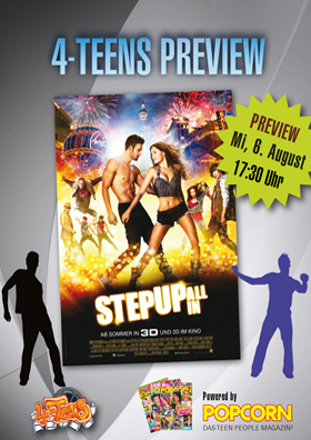 4-Teens Preview - Step Up 3D