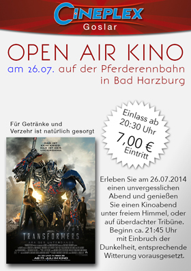 Open Air Kino - 26.07.