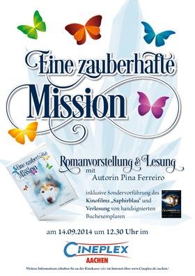 Eine zauberhafte Mission - Romanvorstellung & Lesung