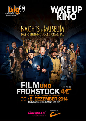 BigFM Wake Up Kino: Nachts im Museum 3