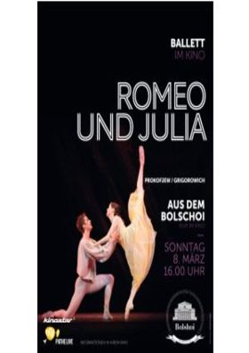 BolshoiBallett live: Romeo and Juliet (Romeo und
