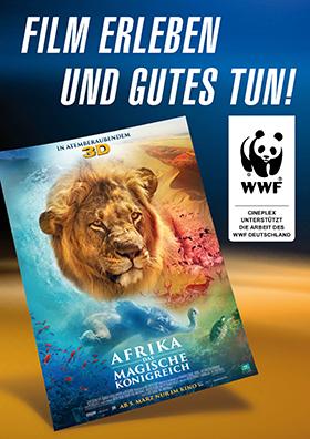 WWF-Aktion zu AFRIKA - DAS MAGISCHE KÖNIGREICH