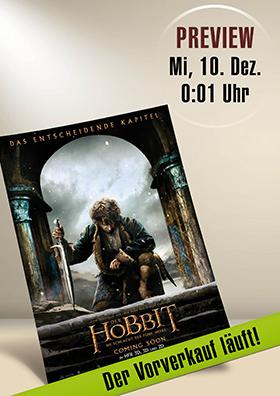 Preview DER HOBBIT – DIE SCHLACHT DER FÜNF HEERE