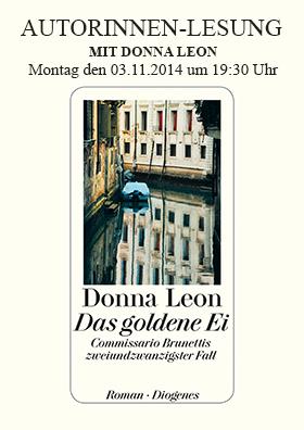Autorinnen-Lesung mit Donna Leon