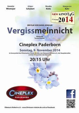 Vergissmeinnicht (NRW Kinotag 2014)