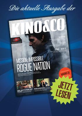 Ab jetzt auch Online zu lesen - die aktuelle Ausgabe der Kino&Co