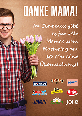 Muttertag im Cineplex am 10. Mai!