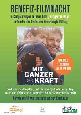 Benefiz-Filmnacht zu Gunsten der Deutschen Kinderhospiz-Stiftung