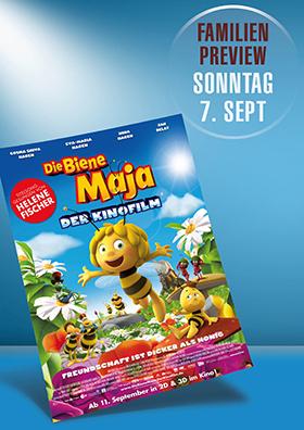 Familienpreview: Die Biene Maja 3D