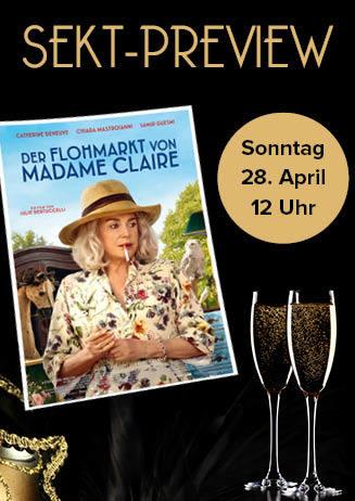 """190428 Sekt-Preview """"Der Flohmarkt von Madame Claire"""""""