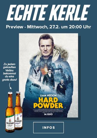 """Echte Kerle """"Hard Powder"""" am 27.02.19 um 20 Uhr"""