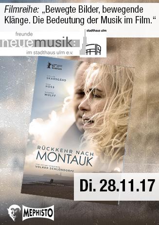 Bewegte Bilder - Bewegende Klänge: Rückkehr nach Montauk