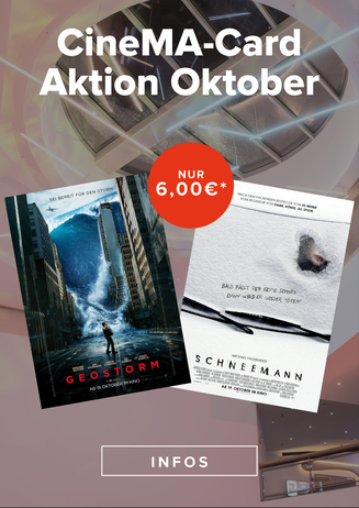 CineMA Card Aktion Oktober