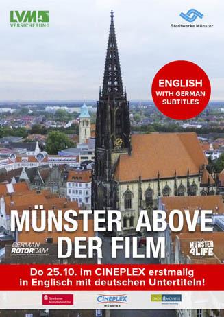 MÜNSTER ABOVE – DER FILM in Englisch