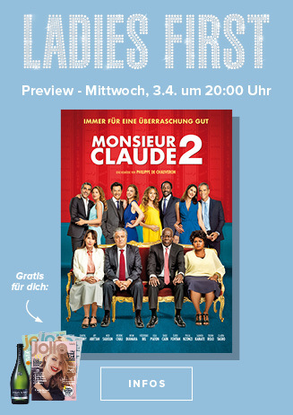 "Ladies-First-Preview: ""Monsieur Claude 2"""