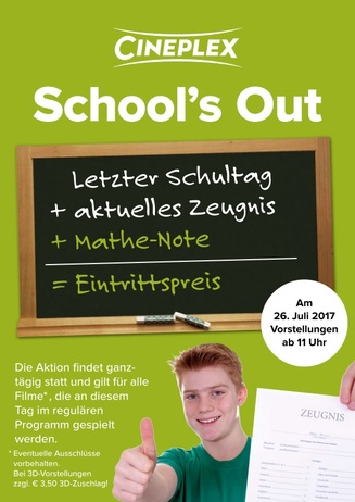 School's Out 2017