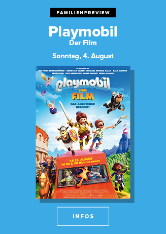 Familienpreview am 04.08.2019 um 15 Uhr: Playmobil- Der Film