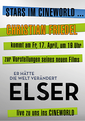 Hauptdarsteller Christian Friedel