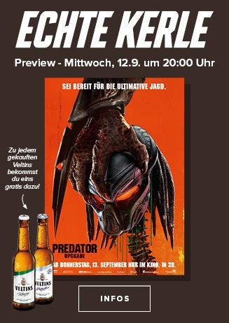 "Echte Kerle Preview: ""Predator - Upgrade"""