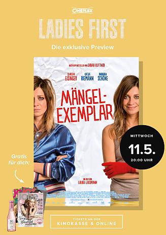 Ladies-First-Preview: MÄNGELEXEMPLAR