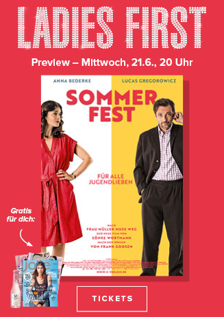 """Ladies First Preview """" Sommerfest """""""