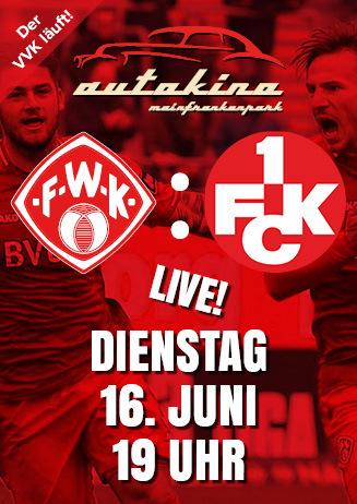 200616 Autokino: FWK - 1. FC Kaiserslautern