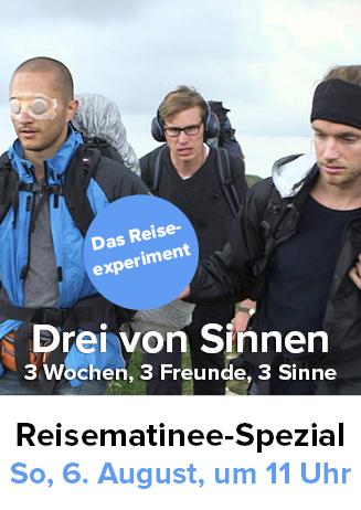 """170806 """"Drei von Sinnen"""" in der Reisematinee"""