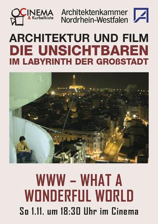 Architektur und Film: WHAT A WONDERFUL WORLD