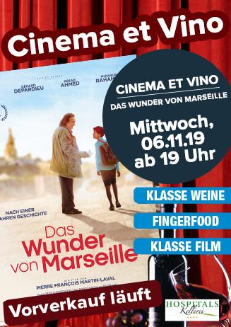 """Cinema & Vino: """"Das Wunder von Marseille"""""""