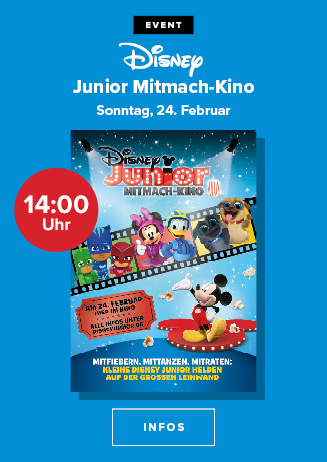 Disney Junior Mitmach-Kino 2/2019