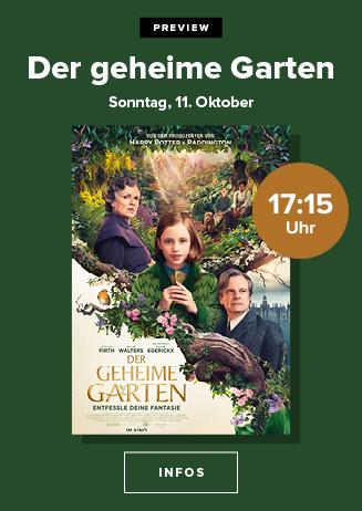 """Preview: """"Der geheime Garten"""""""