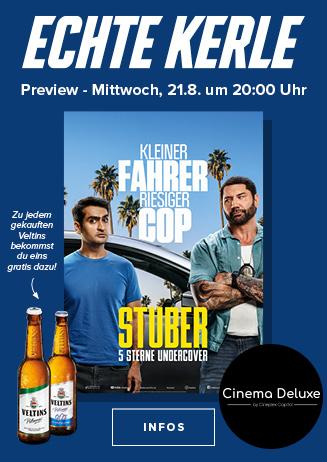 "Echte Kerle Preview: ""Stuber"""