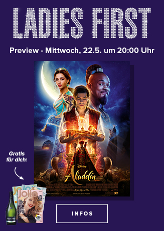 "Ladies First Preview ""Aladdin"""