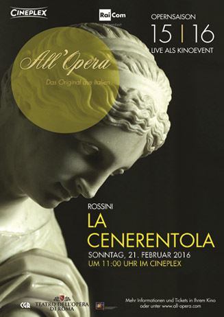 Opera di Roma: LA CENERENTOLA
