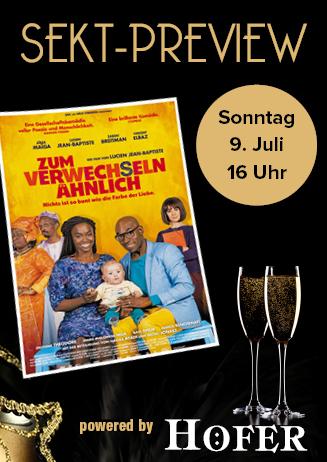 """170709 Sekt-Preview """"Zum Verwechseln ähnlich"""""""