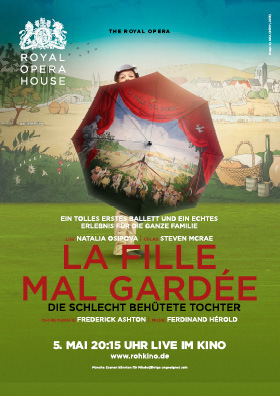 Royal Ballet: La Fille mal Gardée am 05.05.15