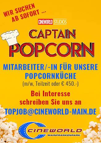 """191231 Stellenanzeige """"Popcorn"""""""