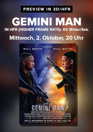 Gemini Man Preview HFR