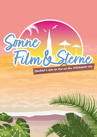 Sonne, Film & Sterne - Beachclub & Open Air Kino in Ulm