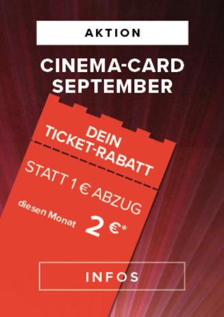 CineMA-Card- Aktion September