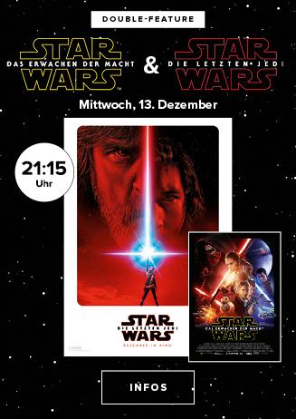 Double Feature: Star Wars VII & Star Wars VIII