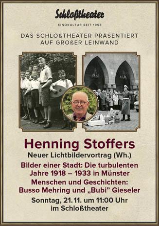 Lichtbildervortrag von Henning Stoffers (Wh.)