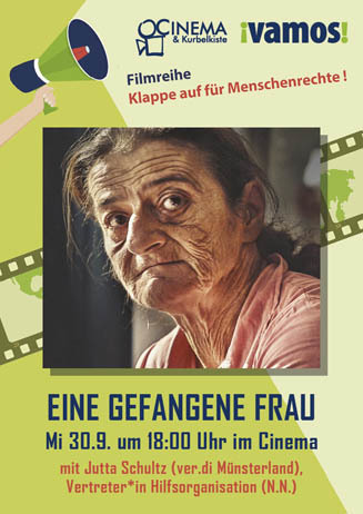 Klappe auf für Menschenrechte (2): EINE GEFANGENE FRAU
