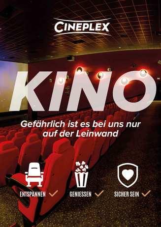 Kino - Gefährlich ist es bei uns nur auf der Leinwand!