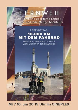 Fernweh: 18.000 km mit dem Fahrrad