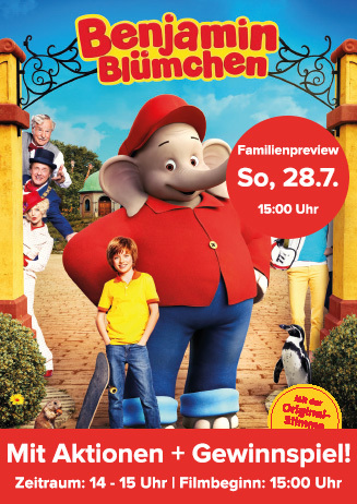 "Familienpreview: ""Benjamin Blümchen"""